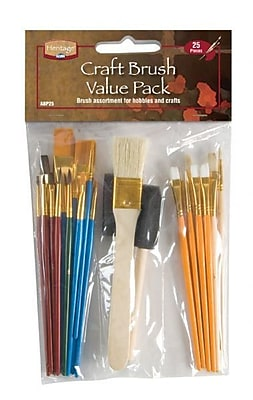 Alvin and Co. Craft Brush Value Pack (Set of 25)