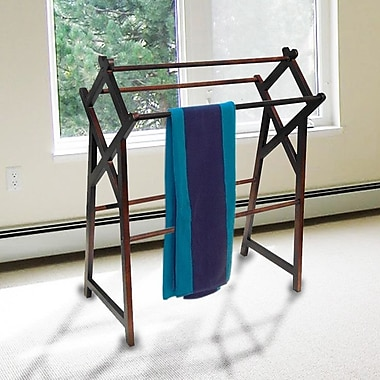 D-Art Collection Cross Free Standing Towel Stand
