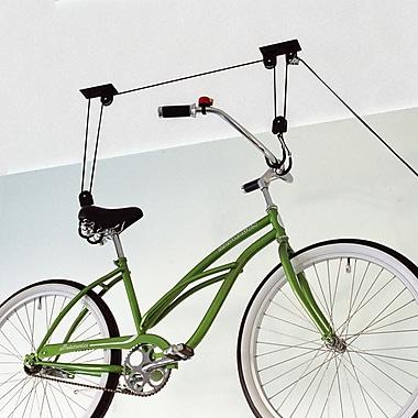 Gear Up Inc. Black Series Up and Away Bike Hoist System Ceiling Mounted Bike Rack