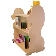 Ace Baby Furniture Lion Mobile Double Sided 41.5'' Bookcase; Natural Maple