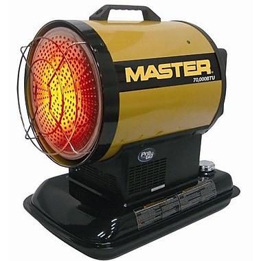 Master 70,000 BTU Portable Kerosene Radiant Utility Heater