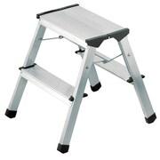 Hailo USA Inc. 2-Step Aluminum Step Stool w/ 330 lb. Load Capacity