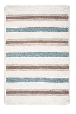 Colonial Mills Allure Sparrow Ivory Area Rug; Rectangle 5' x 8'