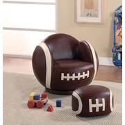 Alcott Hill Tiemann Football Kids Novelty Chair and Ottoman