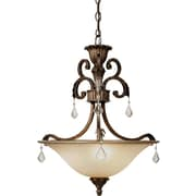 Artcraft Lighting Florence 3-Light Inverted Pendant