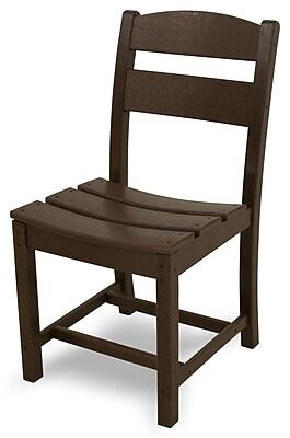 Ivy Terrace Classics Patio Dining Chair; Mahogany