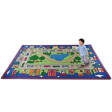 Kid Carpet Around Town Road Area Rug; 6' x 8'6''