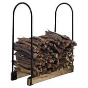 Crosley Hartman Adjustable Firewood Storage Steel Log Rack
