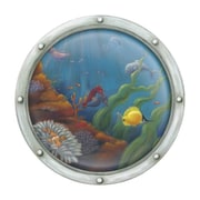 4 Walls Porthole Number 2 Accent Mural Wall Mural