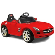 Vroom Rider Mercedes-Benz SLS AMG Rastar 6V Battery Powered Car; Red