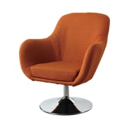 Wildon Home   Lounge Chair in Orange
