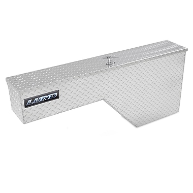Lund Inc. Fender Well Full Size Truck Tool Box; Silver
