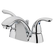 Estora Ferrara Centerset Bathroom Faucet w/ Double Handles; Chrome