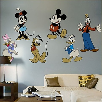 Fathead Classic Mickey Mouse and Friends Wall Decal WYF078275947779