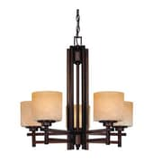 Dolan Designs Roxbury 5-Light Shaded Chandelier