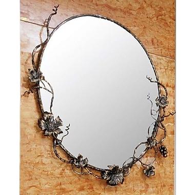 Quiescence Vineyard Mirror; Oil Rubbed Bronze