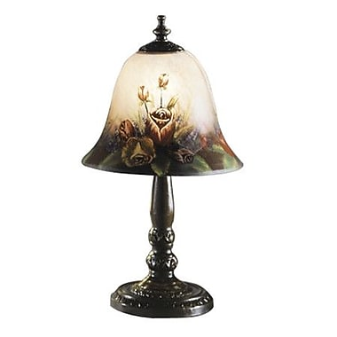 Dale Tiffany Handale Garden Rose 14'' Table Lamp