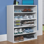 ClosetMaid Stackable 5-Tier Shoe Rack