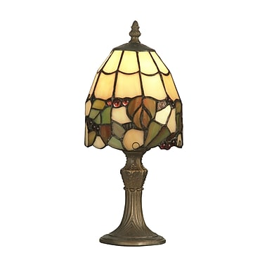 Dale Tiffany Grape 13'' Table Lamp