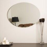 Decor Wonderland Frameless Ava Wall Mirror