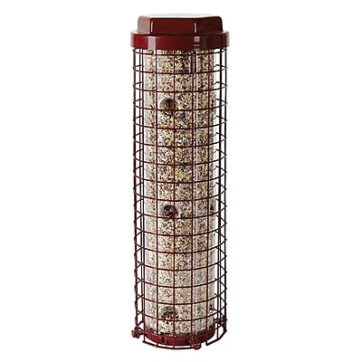Perky Pet Easy Caged Tube Bird Feeder (WYF078276315088) photo