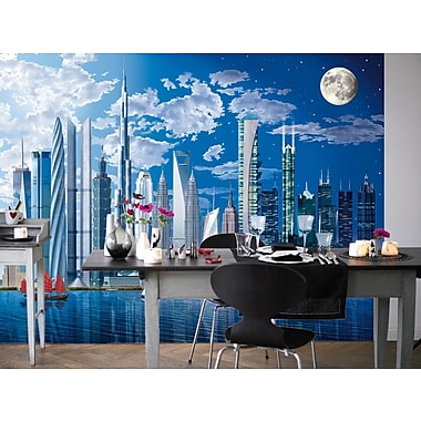 Brewster Home Fashions Ideal Decor Worlds Tallest Buildings Wall Mural