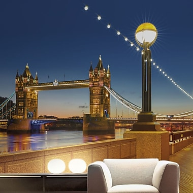 Brewster Home Fashions Komar Tower Bridge Wall Mural