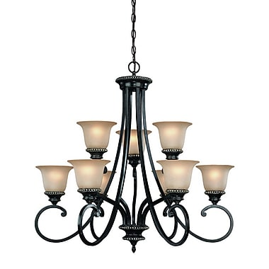 Dolan Designs Hastings 9-Light Shaded Chandelier