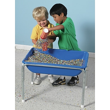 Children's Factory Kidfetti 0.83 ft. Rectangular Sandbox; Multi