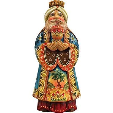 G Debrekht Derevo King Gaspar Folk Nativity