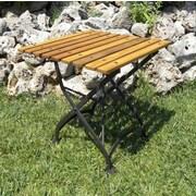 Furniture Designhouse European Caf  Bistro Table; European Chestnut