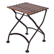 Furniture Designhouse European Caf  Bistro Table; African Teak
