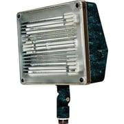 Dabmar Lighting 3-Light Flood Light; Verde Green