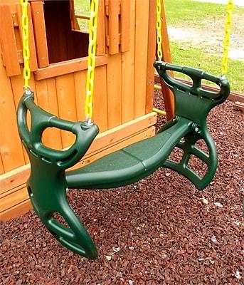 Eastern Jungle Gym Heavy Duty Plastic Horse Glider w/ Coated Chain