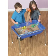 Children's Factory Kidfetti 0.83 ft. Rectangular Sandbox; Sand