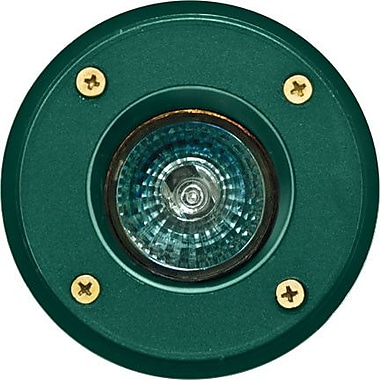 Dabmar Lighting 1-Light Well Light; Green