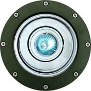 Dabmar Lighting 1-Light Well Light; Green