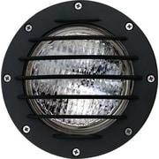 Dabmar Lighting 1-Light Well Light; Black