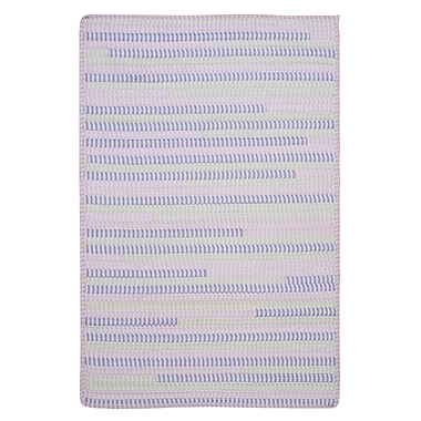 Colonial Mills Ticking Stripe Rect Dreamland Area Rug; Runner 2' x 8'