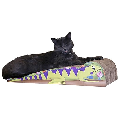 Imperial Cat Scratch 'n Shapes Large Iguana Recycled Paper Scratching Board