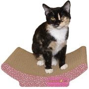 Imperial Cat Scratch 'n Shapes Cozy Curl Recycled Paper Scratching Board; Valentine A