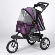 Guardian Gear Sprinter EXT II Dog Jogger Pet Stroller; Plum