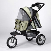 Guardian Gear Sprinter EXT II Dog Jogger Pet Stroller; Sage Green