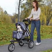 Guardian Gear Sprinter EXT II Dog Jogger Pet Stroller; Steel Blue