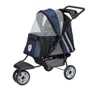 Guardian Gear Roadster II Dog Jogger Pet Stroller; Navy
