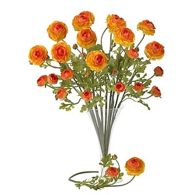Nearly Natural 23'' Ranunculus Floral Arrangement (Set of 12)