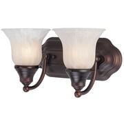 Dolan Designs Richland 2-Light Vanity Light; Royal Bronze