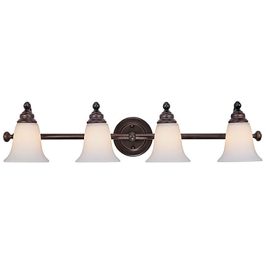 Dolan Designs Hamilton 4-Light Vanity Light; Royal Bronze