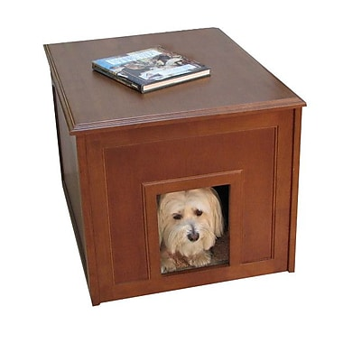 Crown Pet Products Crown Pet Dog Cabinet; Mahogany