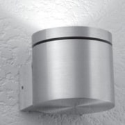 LumenArt Ahearn 1-Light Armed Sconce; Without Aluminum Square Junction Box Cover